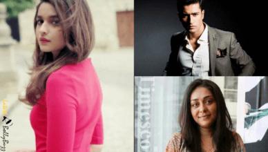 Alia Bhatt, Vicky Kaushal and Maghna Gulzar
