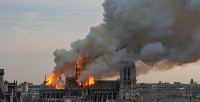 Bollywood celebrities react to Notre Dame fire