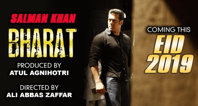 Salman Khan's upcoming movie Bharat trailer and release date