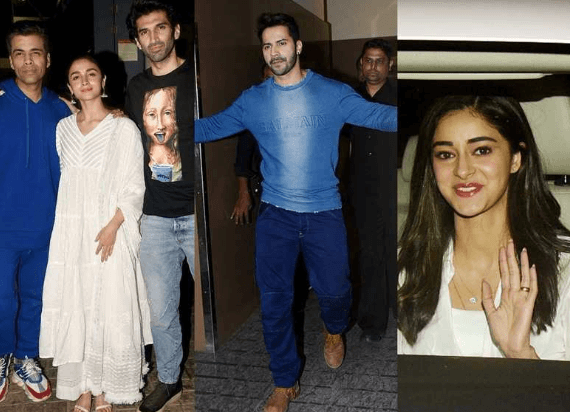 Bollywood Celebrities Attend the Screening of 'Kalank'